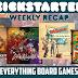 Kickstarter Recap - November 2, 2018