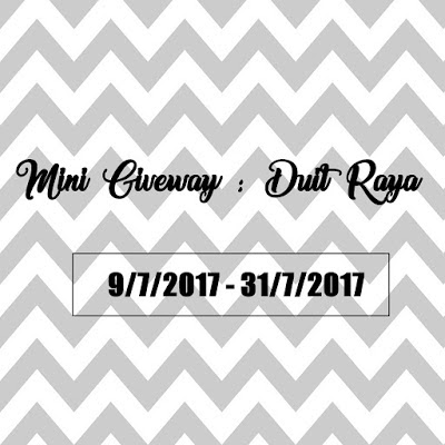 Blog Mayy Jie: Mini Giveaway : Duit Raya | 31 July 2017