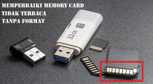 3 Cara Mudah Memperbaiki Memory Card Yang Tidak Terbaca Tanpa Diformat
