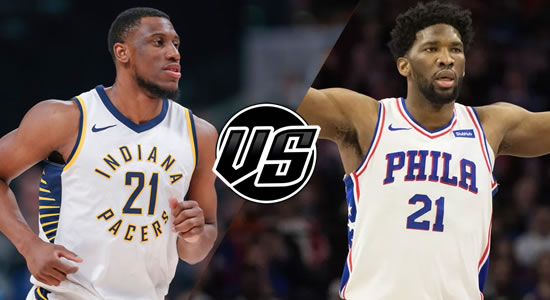 Live Streaming List: Indiana Pacers vs Philadelphia 76ers 2018-2019 NBA Season