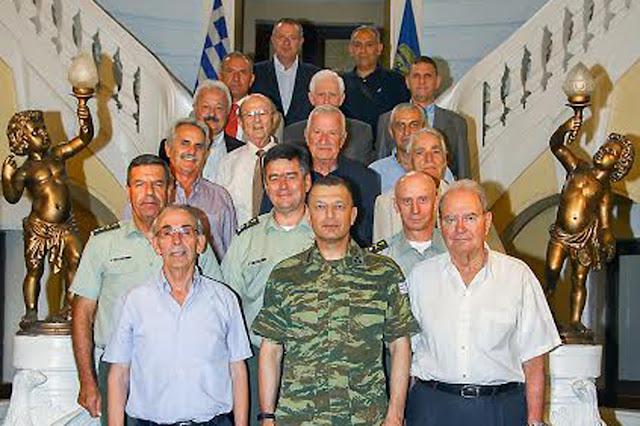 Συνάντηση του Αρχηγού ΓΕΣ με διατελέσαντες διοικητές της Σχολής Ευελπίδων