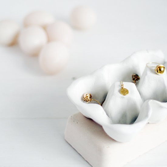 DIY Clay Egg Carton