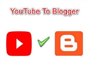 Cara Memasang Video Youtube di Blog Dengan Mudah
