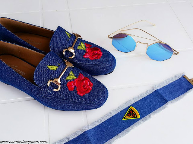 denim ayakkabı