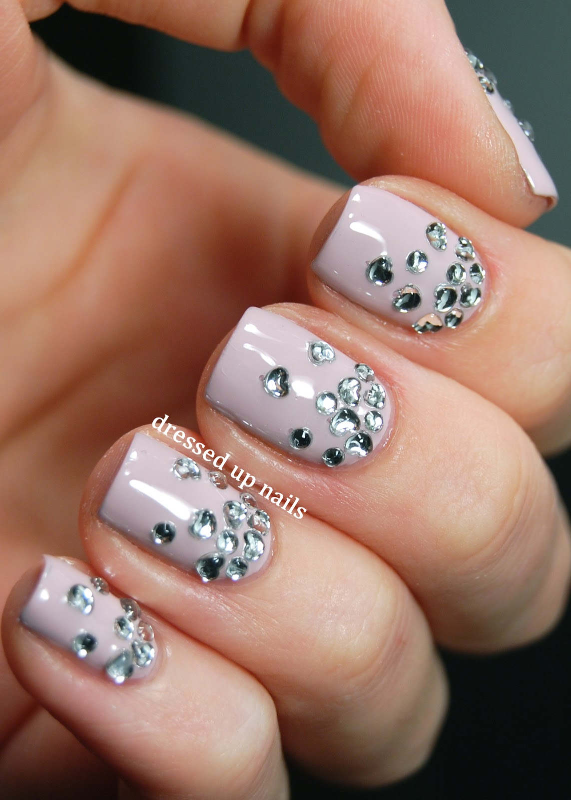 Nail Art Design 2014: Nail art rhinestones