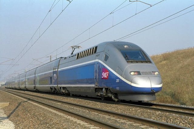 Trem de Madri a Lyon