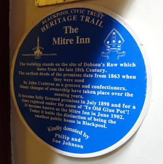 Blackpool's Smallest Pub - The Mitre