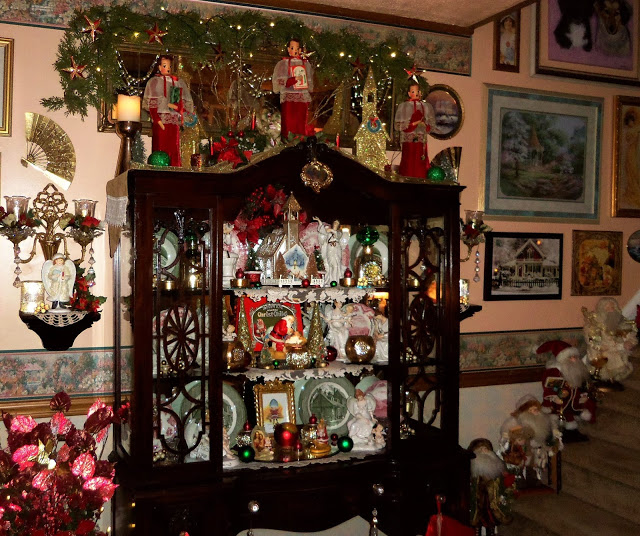 Christmas Home Tour, Living Room, Entry, 2019