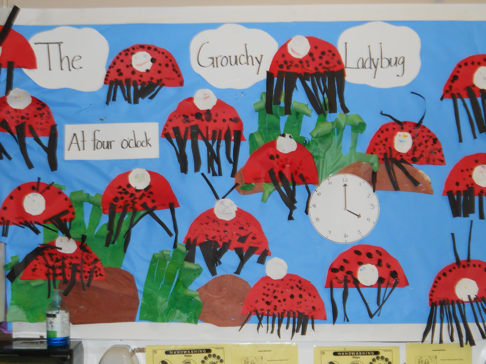 Learning And Teaching With Preschoolers Grouchy Ladybug