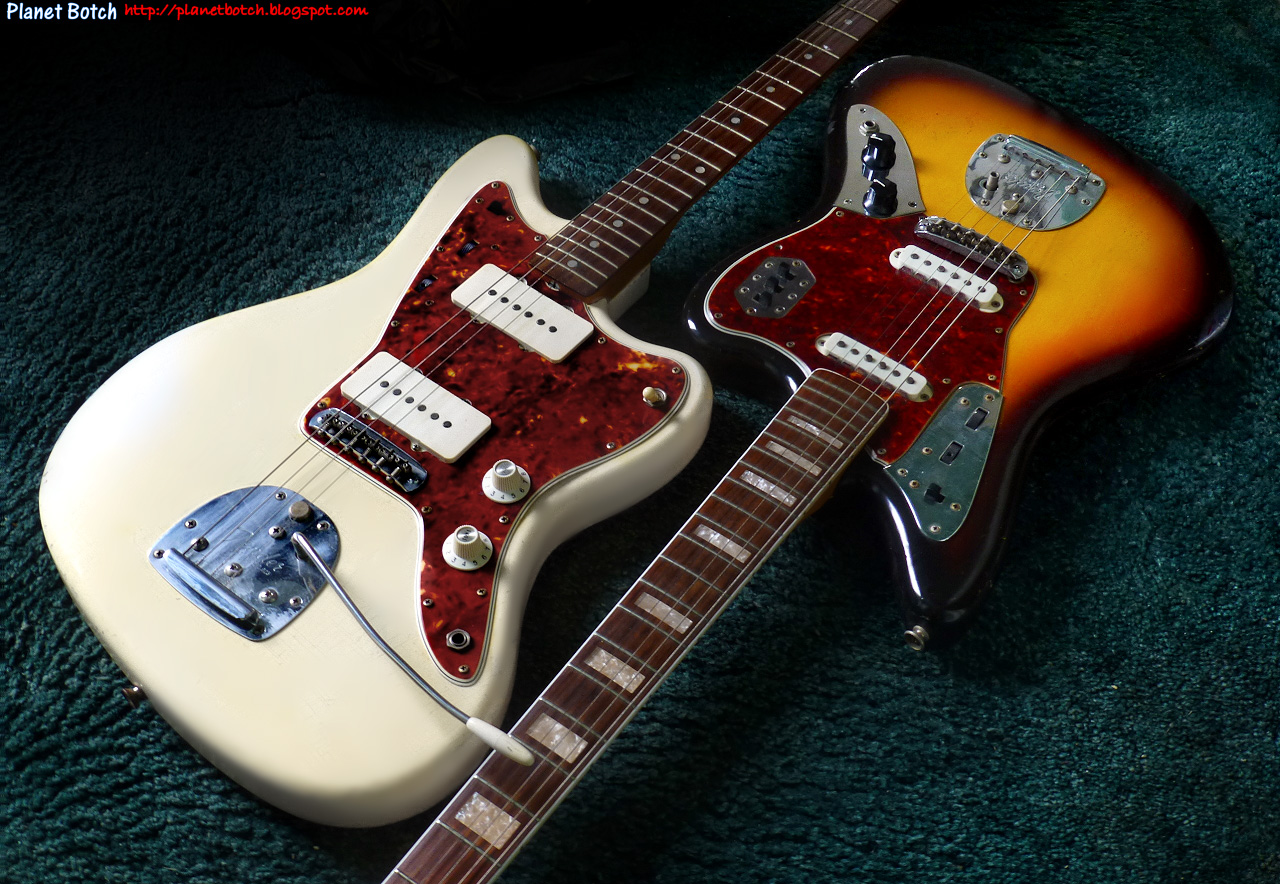 hight resolution of jaguar jazzmaster wiring wiring diagram forward fender jazzmaster and fender jaguar what s the difference planet
