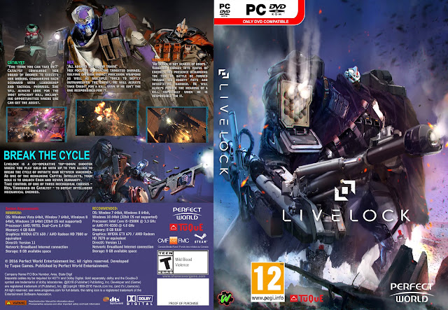 Capa Livelock PC