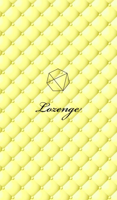 Lozenge-Yellow