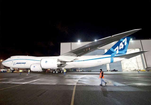 Boeing Receives Four Boeing 747-8 Freighters