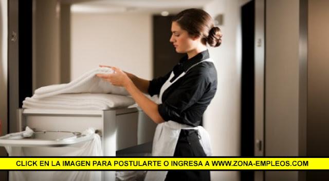 SE BUSCA MUCAMA/O PARA HOTEL