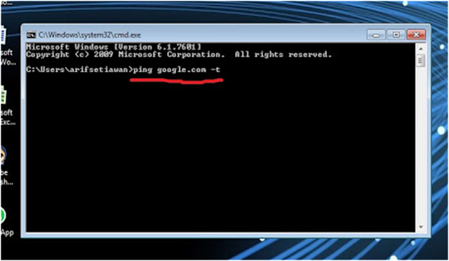 Cara Ping Google Lewat CMD Untuk Menstabilkan Koneksi Internet Cara Ping Google Lewat CMD Untuk Menstabilkan Koneksi Internet