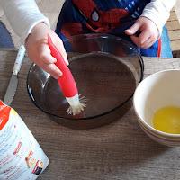 recette avec photo pour enfants petits gateau chocolat banane brownie