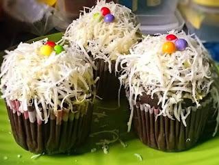 Muffin Kukus Coklat Keju
