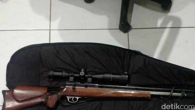 'Sniper' Bekasi Penembak Geng Motor Malah Ditangkap