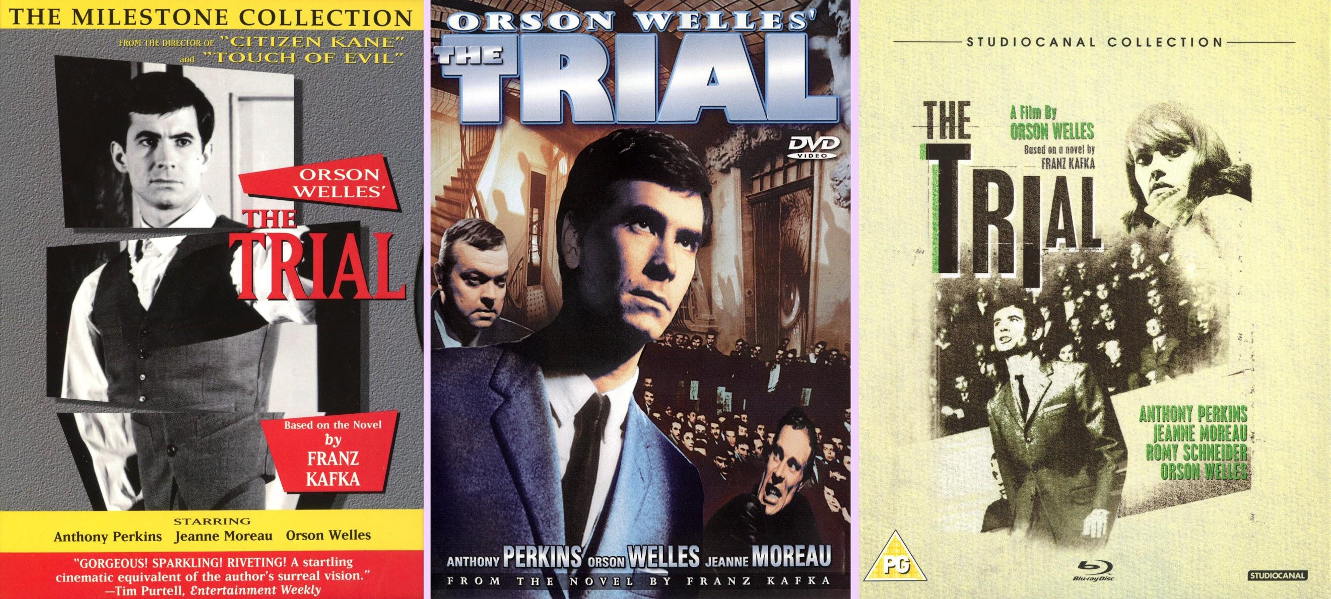 DVD Exotica: Orson Welles' The Trial (DVD/ Blu-ray Comparison)
