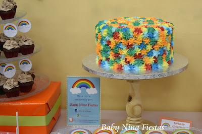 mesa dulce arcoiris