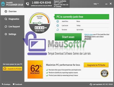 membersikan junk file atau file sampah yang tidak berguna pada komputer atau laptop