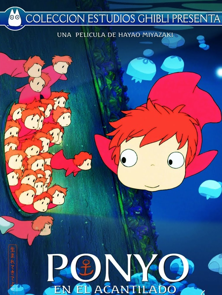 Ponyo (2008) Dual Audio Hindi 350MB BluRay 480p Esubs