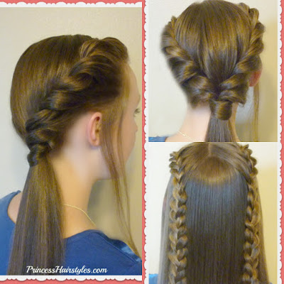 3 hairstyle ideas for school, easy video tutorials