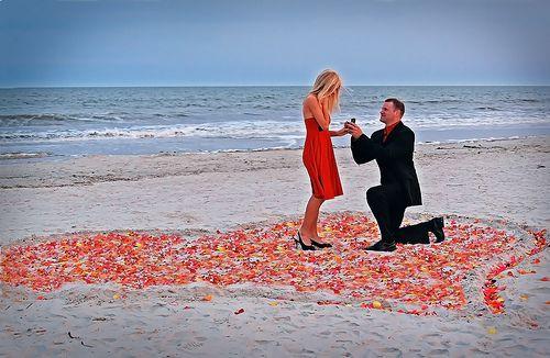 Pedir en matrimonio a tu pareja en una playa paradisiaca