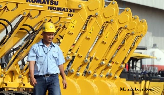 Lowongan Kerja PT. Komatsu Indonesia, Jobs: Engineering.