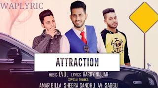 Attraction Song Lyrics
