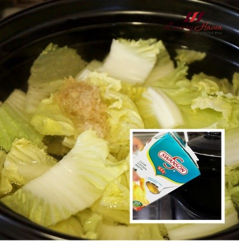 swanson clear chicken broth steamboat tian jin cabbage