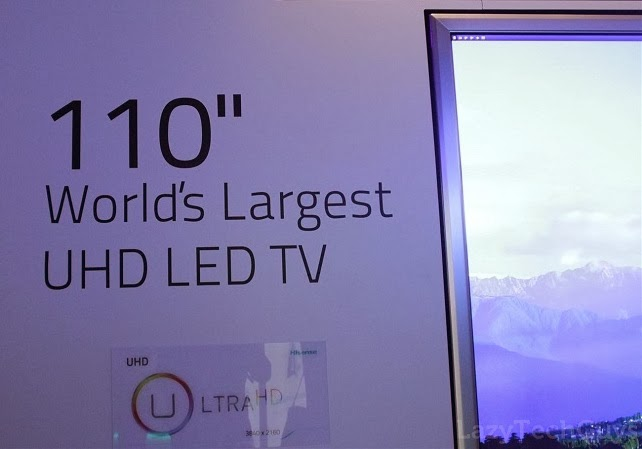 TV Ultra HD 110 Inci