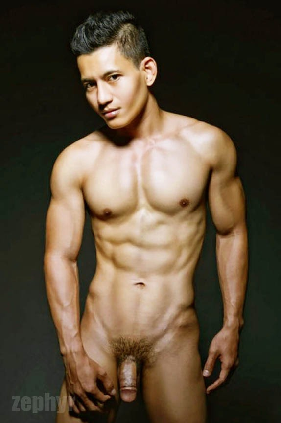 Naked indonesian male