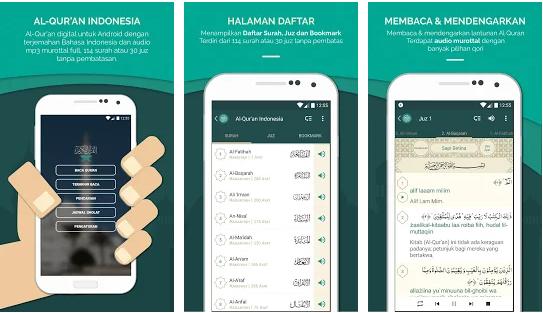 Aplikasi Alquran Digital 30 Juz Terjemah Bahasa Indonesia ...