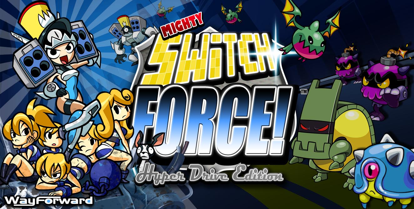 Mighty Switch Force WiiU