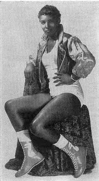 Sweet Georgia Brown - Female Wrestling