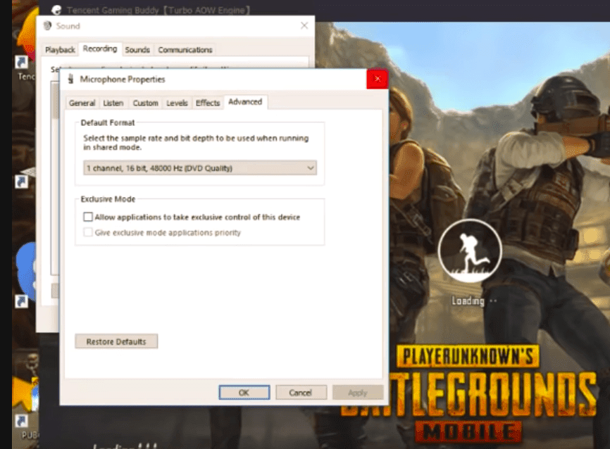 pubg not connecting pc