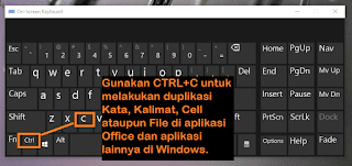 fungsi shortcut di Windows 10
