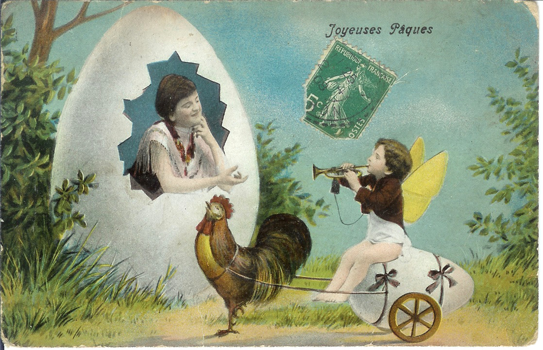 Normandy Life JOYEUSES PAQUES Vintage French Easter Cards