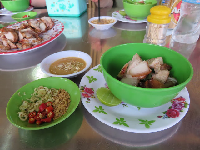 Pig face served up on our Siem Reap Food Tours adventure