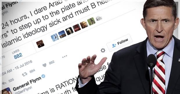 General flynn twitter page