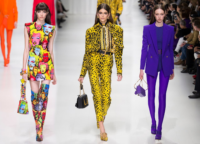 RUNWAY REPORT.....Milan Fashion Week: Versace Spring ...