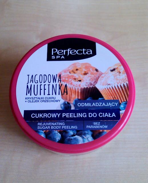 Perfecta, Cukrowy peeling do ciała Jagodowa Muffinka