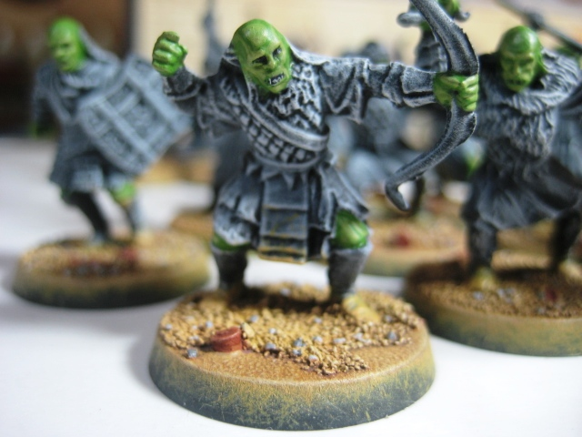 GW LOTR Mordor Orcs WIP photo
