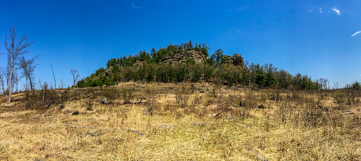 Lone Rock at Quincy Bluff SNA in Friendship WI