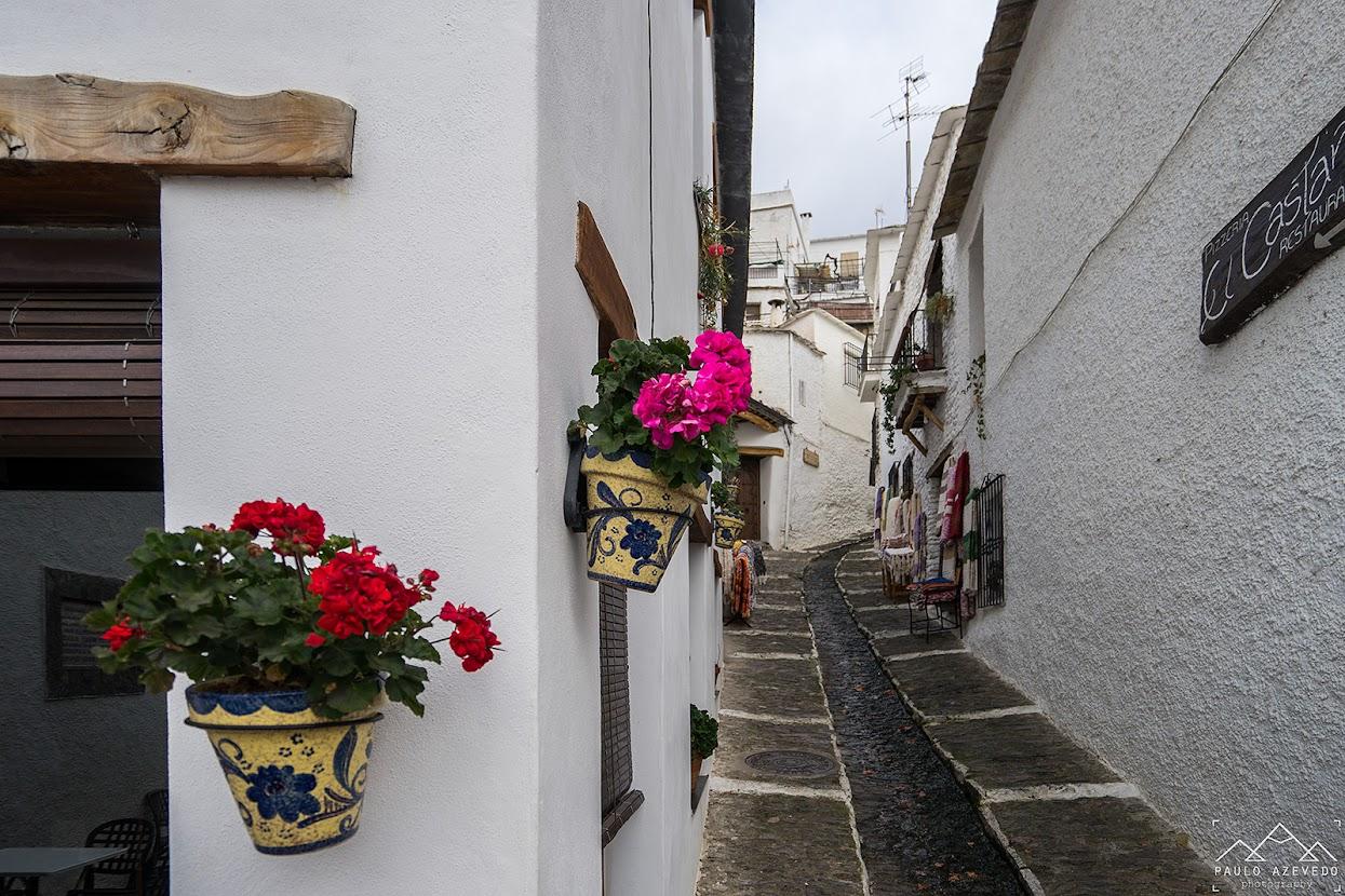 Visitar a Andaluzia - Rua em La Apurjarra