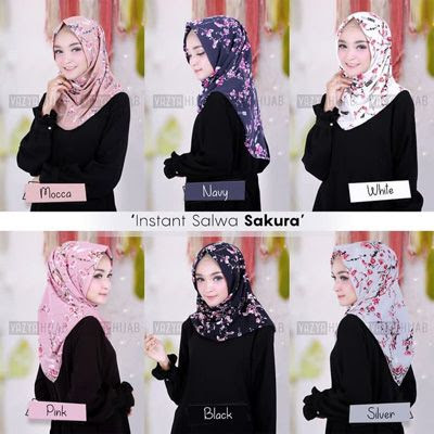 Order Yuk Model Hijab Instan Terbaru 2019 Langsung Pakai Best Seller