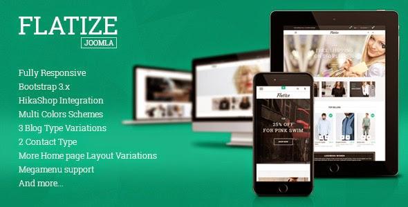 Free eCommerce Joomla Template