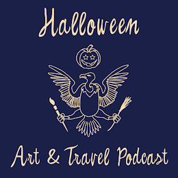 Listen To My Interview On Halloween Art & Travel
