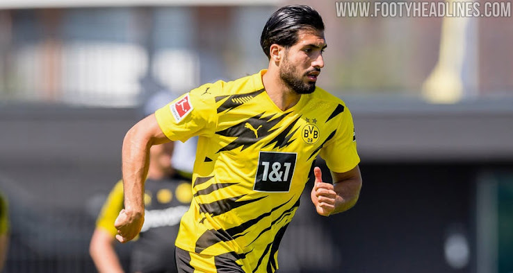 New Borussia Dortmund 20 21 Squad Numbers Announced Haaland Emre Can Hazard More Footy Headlines